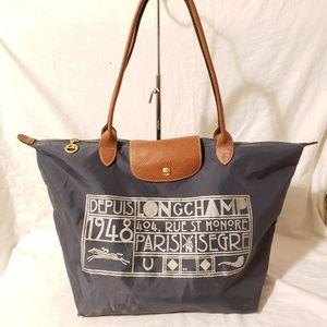 Longchamp large shoulder bag